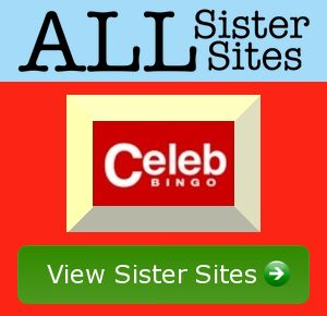 Celeb Bingo sister sites